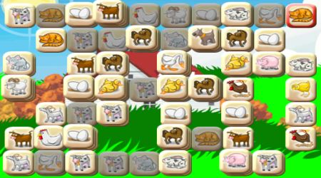 animal mahjong tiles