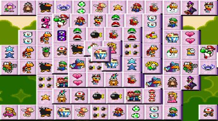 Screenshot - Super Mario Mahjong